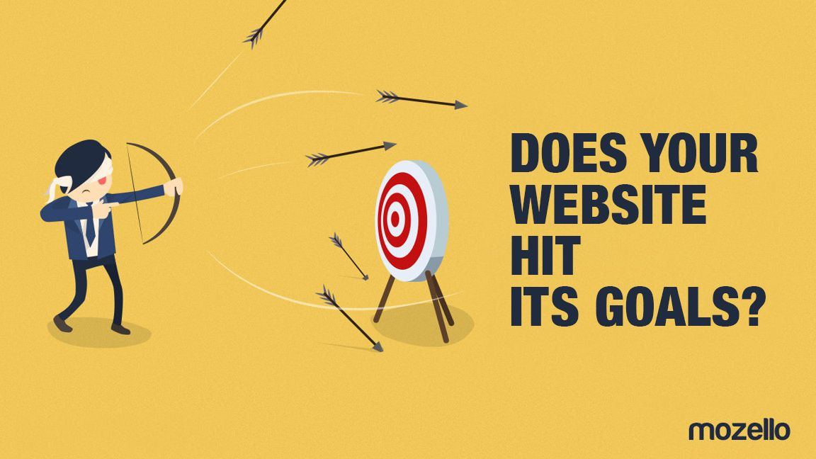 Why it's important to identify your website goals?