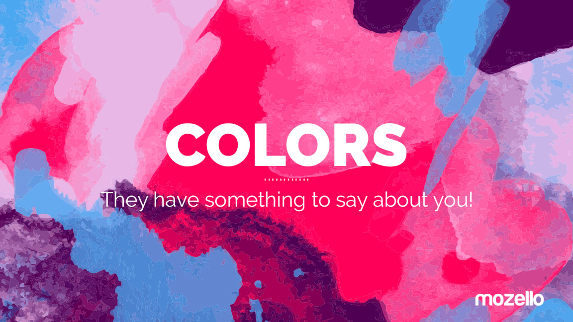 Learn what your website colors have to say about you