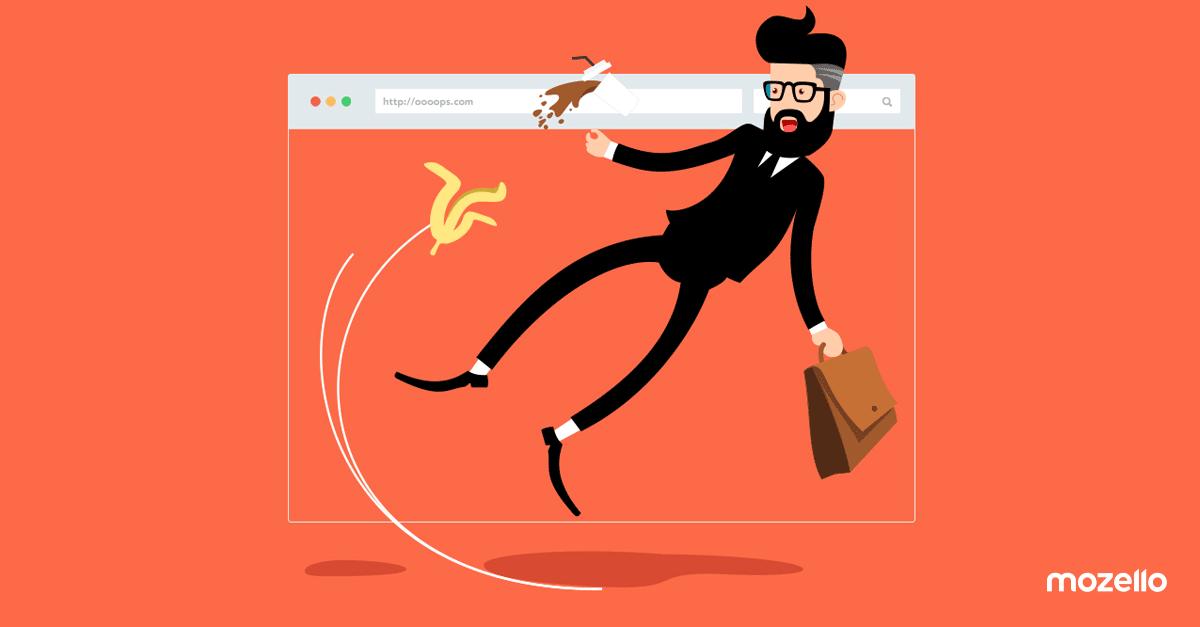 Ar Tavo svetainės pagrindiniame meniu daroma ši klaida?