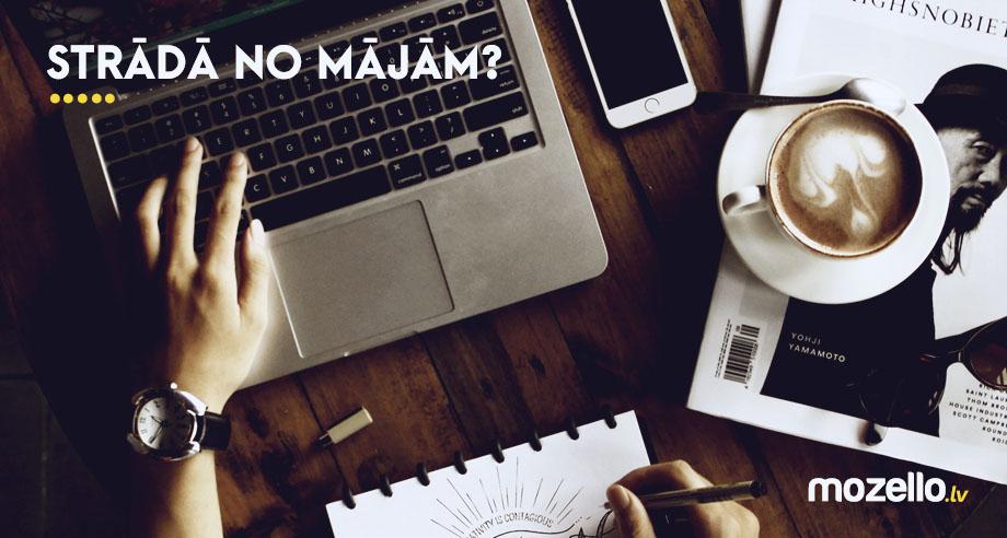 Darbs no mājām: 5 veidi, kā uzspridzināt produktivitāti