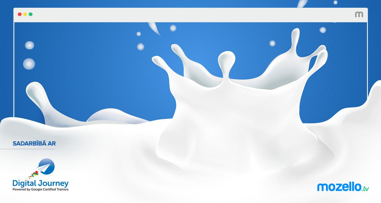 Uzņēmējs kā lielveikala piens. Jeb kā pārdot digitālajā vidē