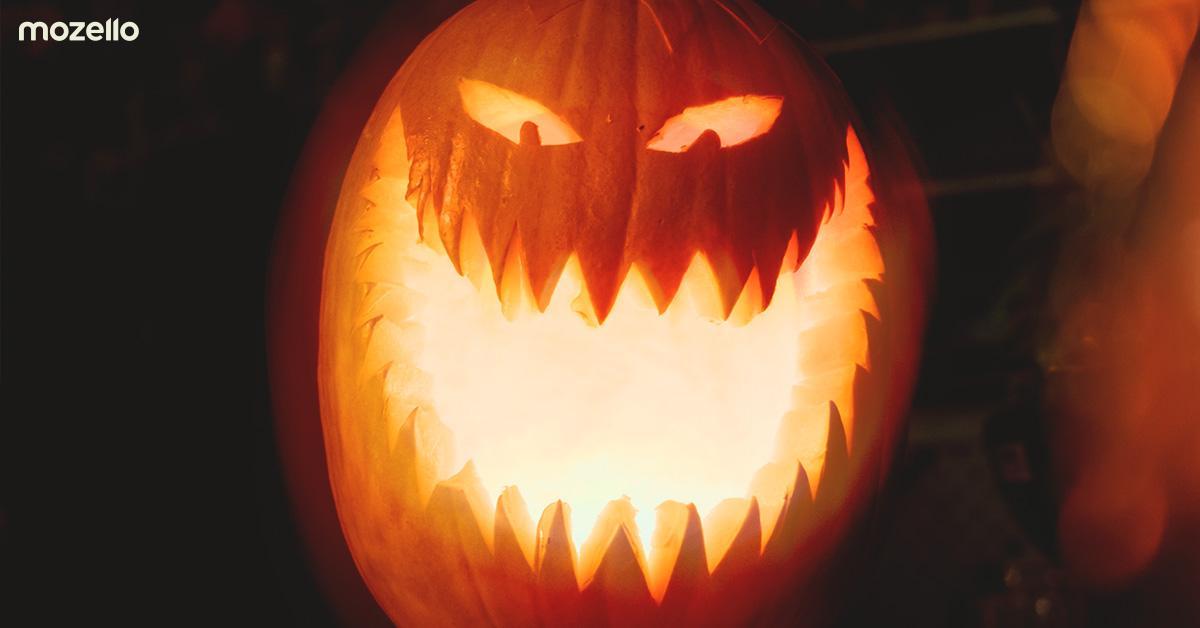 7asinis stindzinošas (un ienesīgas) Helovīna mārketinga idejas